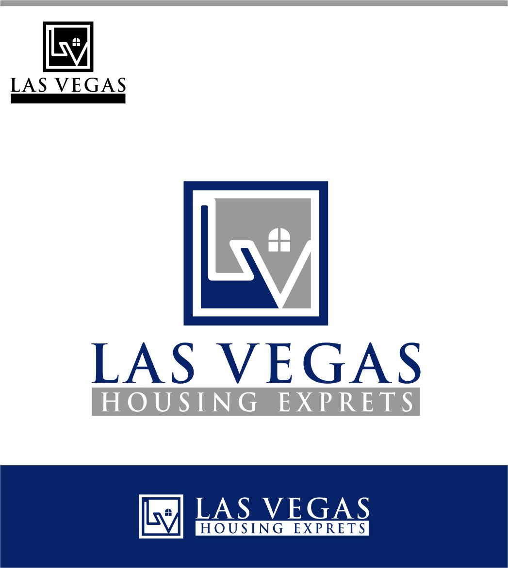 Logo Design by Ngepet_art - Entry No. 67 in the Logo Design Contest Las Vegas Housing Experts Logo Design.