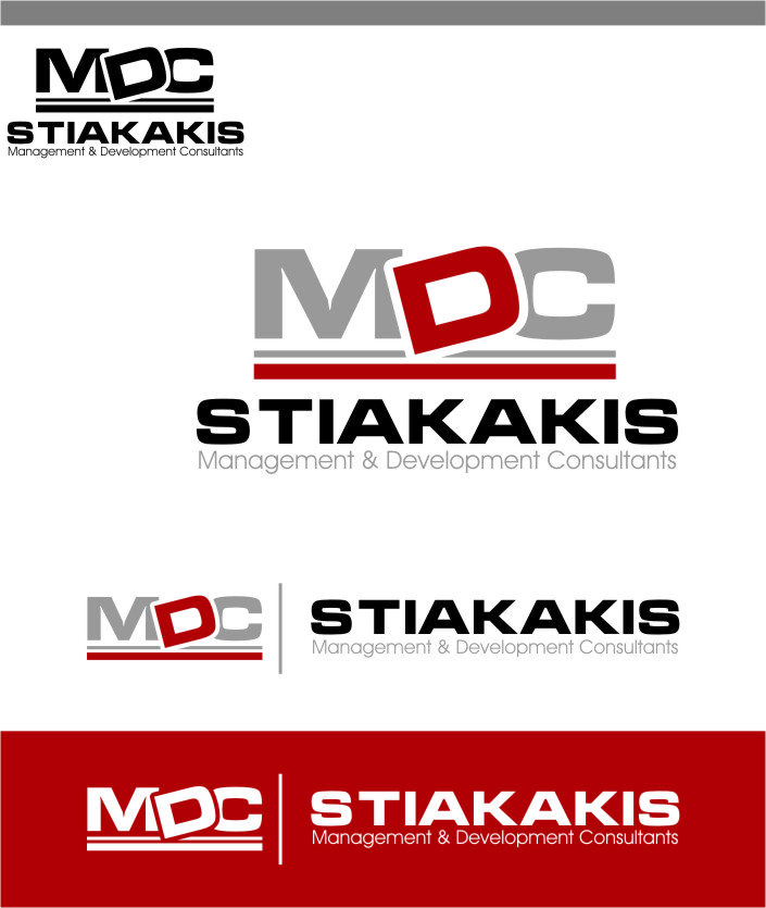 Logo Design by Ngepet_art - Entry No. 33 in the Logo Design Contest Unique Logo Design Wanted for MDC STIAKAKIS.