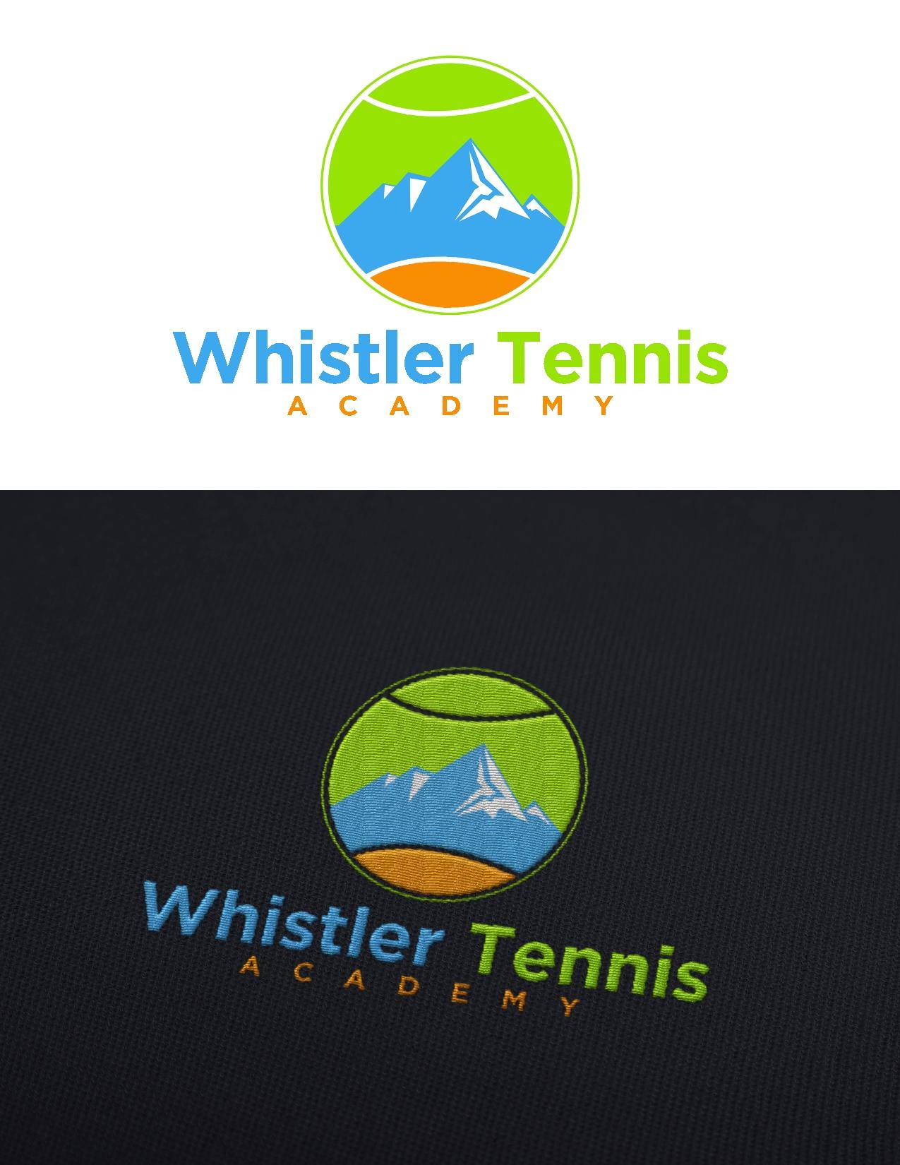 Logo Design by Juan_Kata - Entry No. 195 in the Logo Design Contest Imaginative Logo Design for Whistler Tennis Academy.