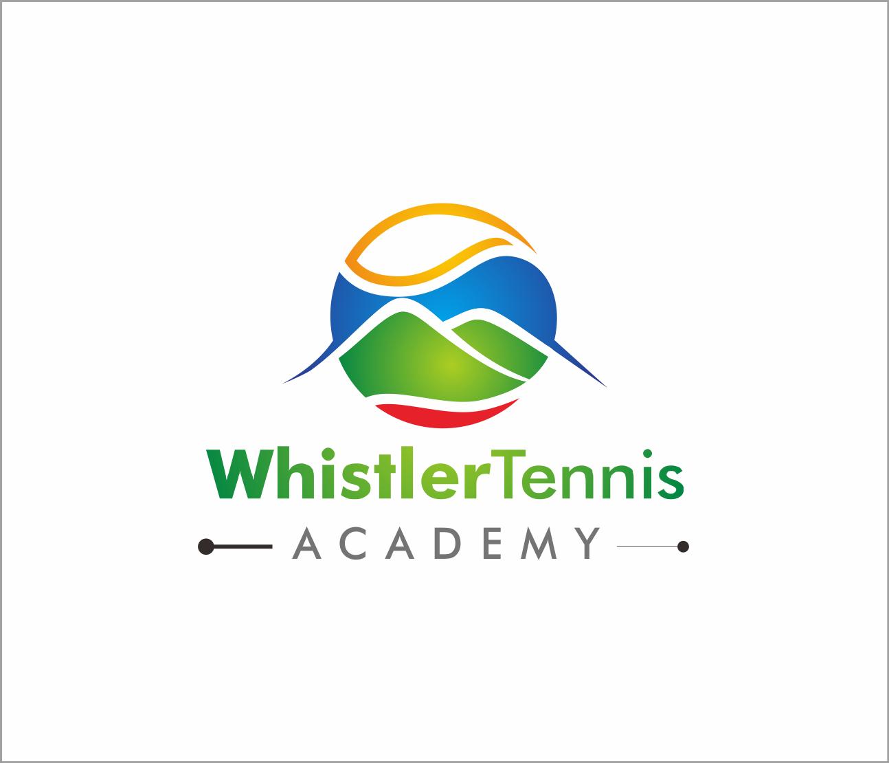 Logo Design by Armada Jamaluddin - Entry No. 196 in the Logo Design Contest Imaginative Logo Design for Whistler Tennis Academy.