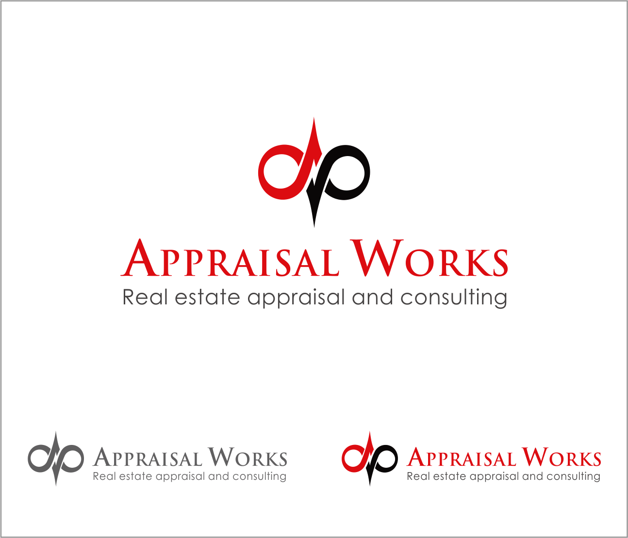 Logo Design by Armada Jamaluddin - Entry No. 152 in the Logo Design Contest Appraisal Works Logo Design.