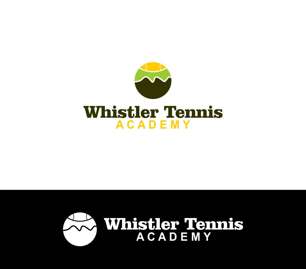Logo Design by Agus Martoyo - Entry No. 197 in the Logo Design Contest Imaginative Logo Design for Whistler Tennis Academy.