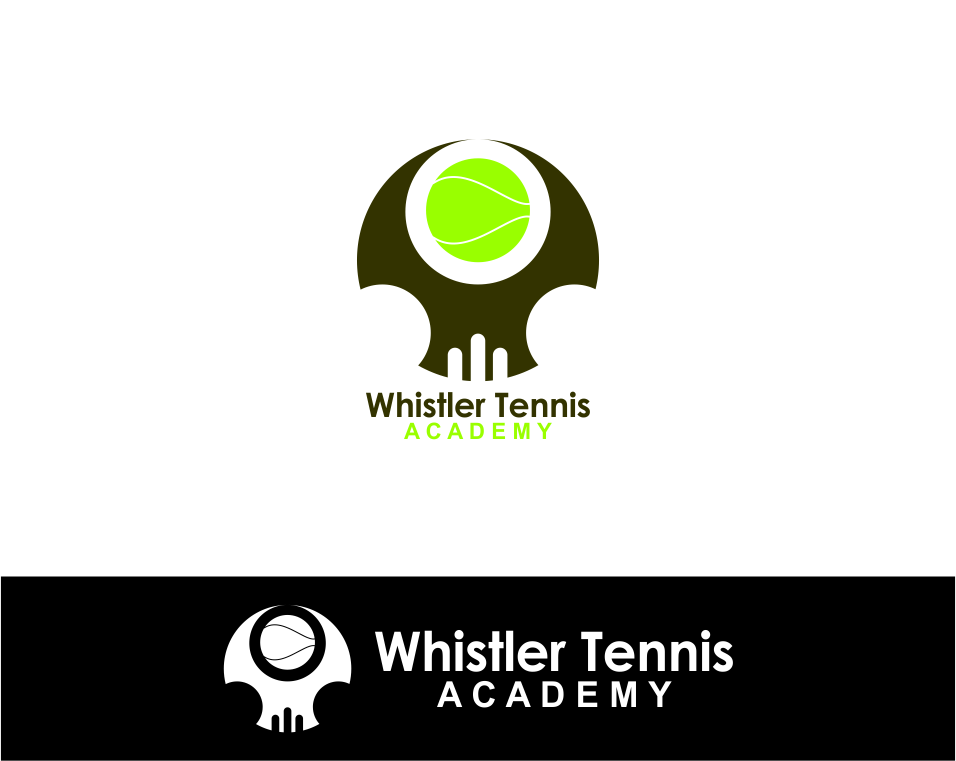 Logo Design by Agus Martoyo - Entry No. 198 in the Logo Design Contest Imaginative Logo Design for Whistler Tennis Academy.