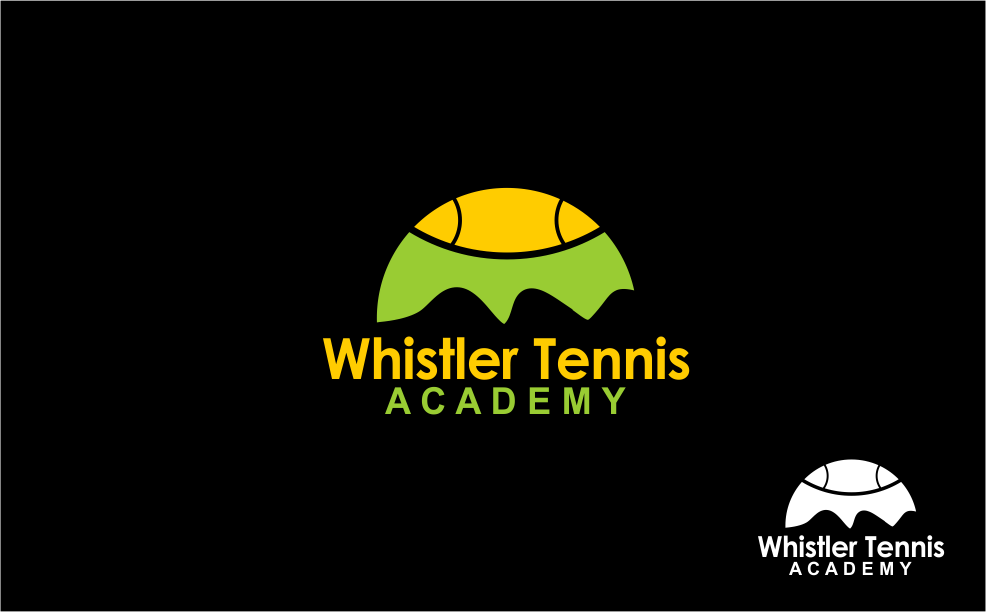 Logo Design by Agus Martoyo - Entry No. 199 in the Logo Design Contest Imaginative Logo Design for Whistler Tennis Academy.