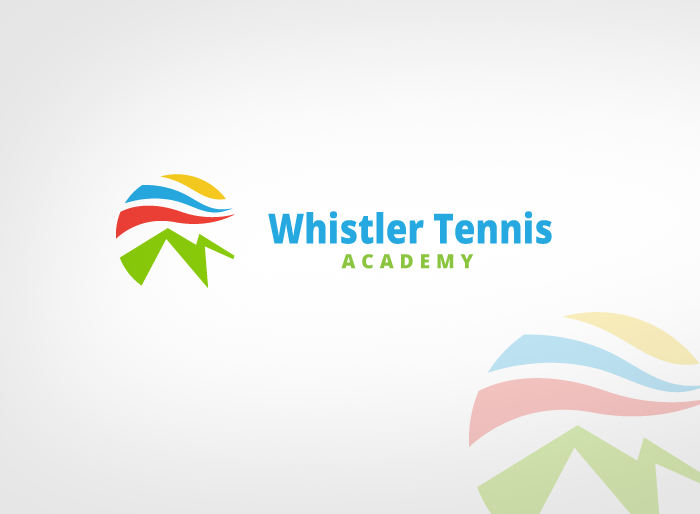 Logo Design by Jan Chua - Entry No. 202 in the Logo Design Contest Imaginative Logo Design for Whistler Tennis Academy.