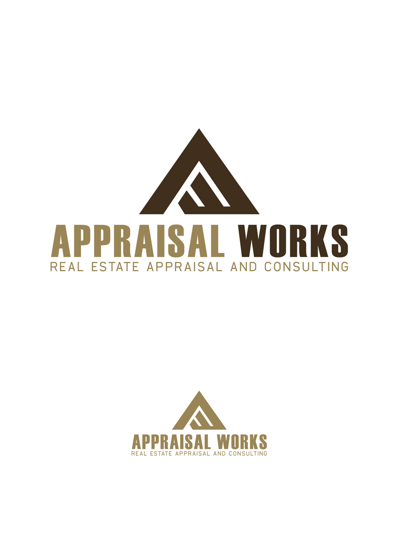 Logo Design by Private User - Entry No. 161 in the Logo Design Contest Appraisal Works Logo Design.