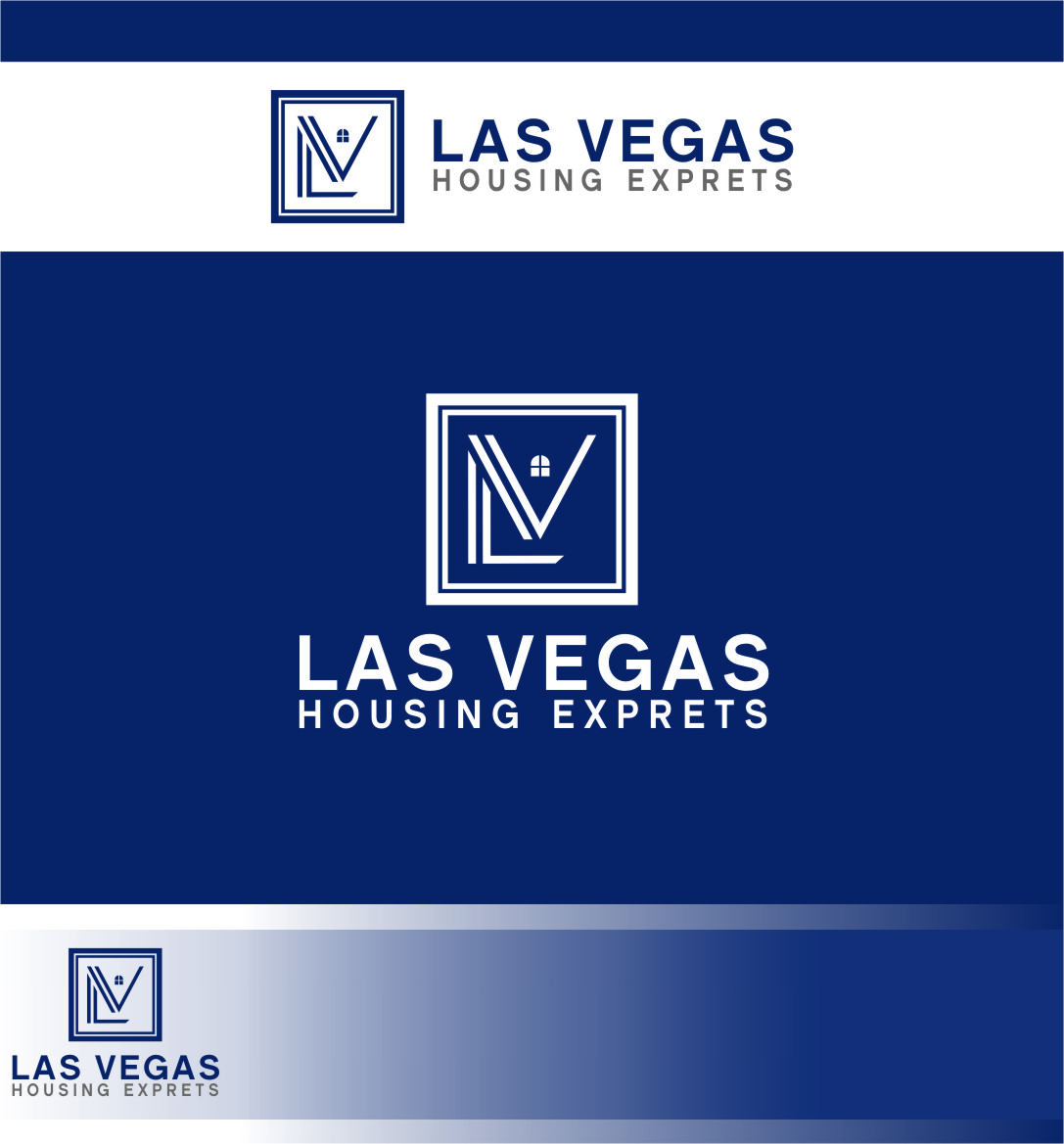 Logo Design by Ngepet_art - Entry No. 71 in the Logo Design Contest Las Vegas Housing Experts Logo Design.