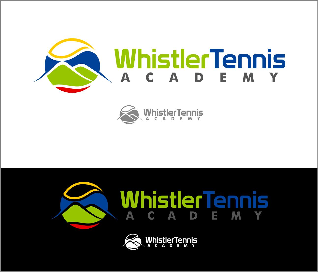 Logo Design by Armada Jamaluddin - Entry No. 205 in the Logo Design Contest Imaginative Logo Design for Whistler Tennis Academy.