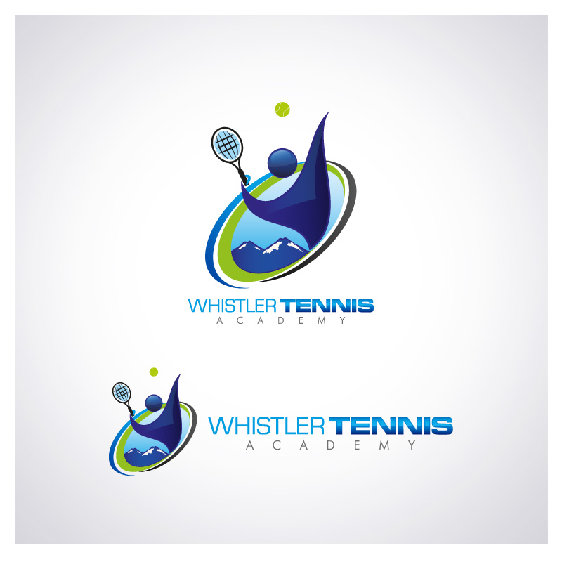 Logo Design by Puspita Wahyuni - Entry No. 207 in the Logo Design Contest Imaginative Logo Design for Whistler Tennis Academy.