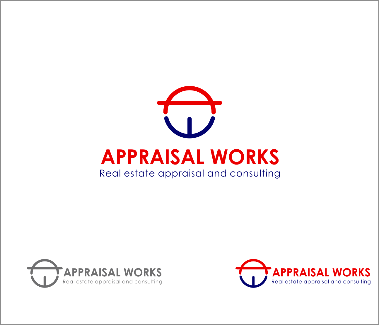 Logo Design by Armada Jamaluddin - Entry No. 167 in the Logo Design Contest Appraisal Works Logo Design.