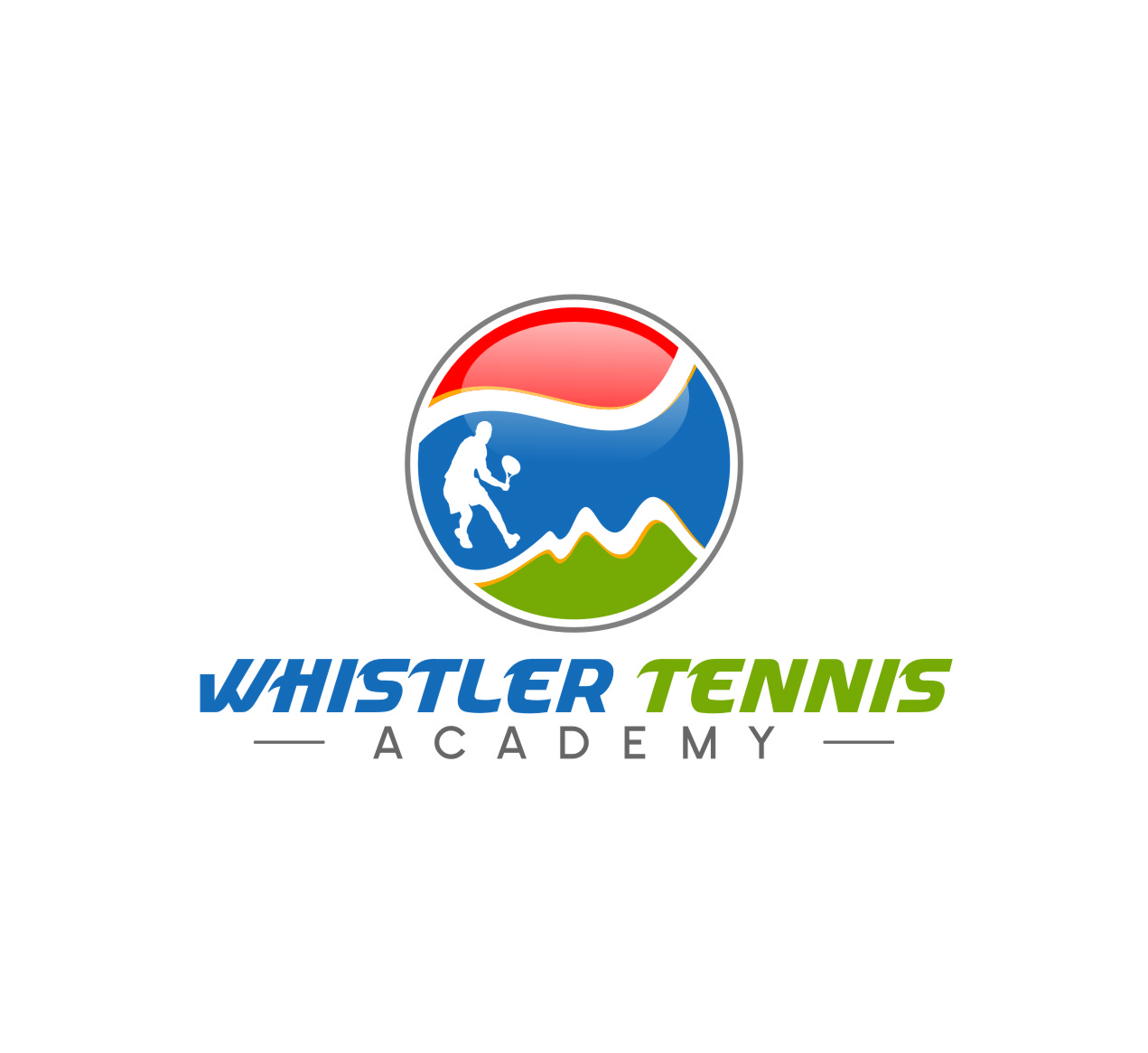 Logo Design by Ngepet_art - Entry No. 210 in the Logo Design Contest Imaginative Logo Design for Whistler Tennis Academy.