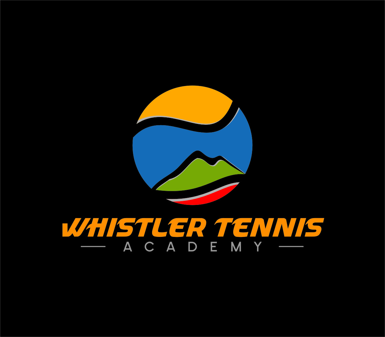 Logo Design by Ngepet_art - Entry No. 213 in the Logo Design Contest Imaginative Logo Design for Whistler Tennis Academy.