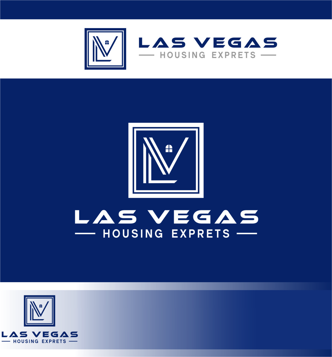 Logo Design by Ngepet_art - Entry No. 73 in the Logo Design Contest Las Vegas Housing Experts Logo Design.