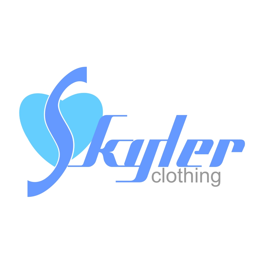 Logo Design by R1CK_ART - Entry No. 223 in the Logo Design Contest Skyler Clothing Logo.