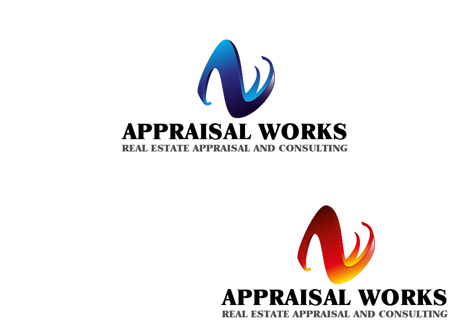 Logo Design by Private User - Entry No. 173 in the Logo Design Contest Appraisal Works Logo Design.