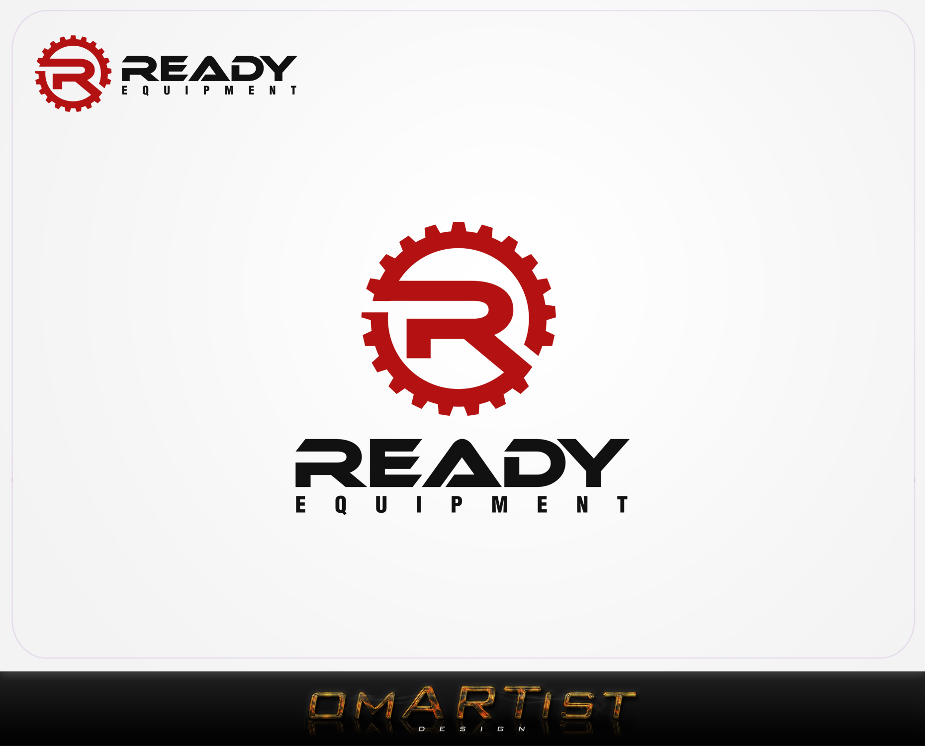 Logo Design by omARTist - Entry No. 213 in the Logo Design Contest Ready Equipment  Logo Design.