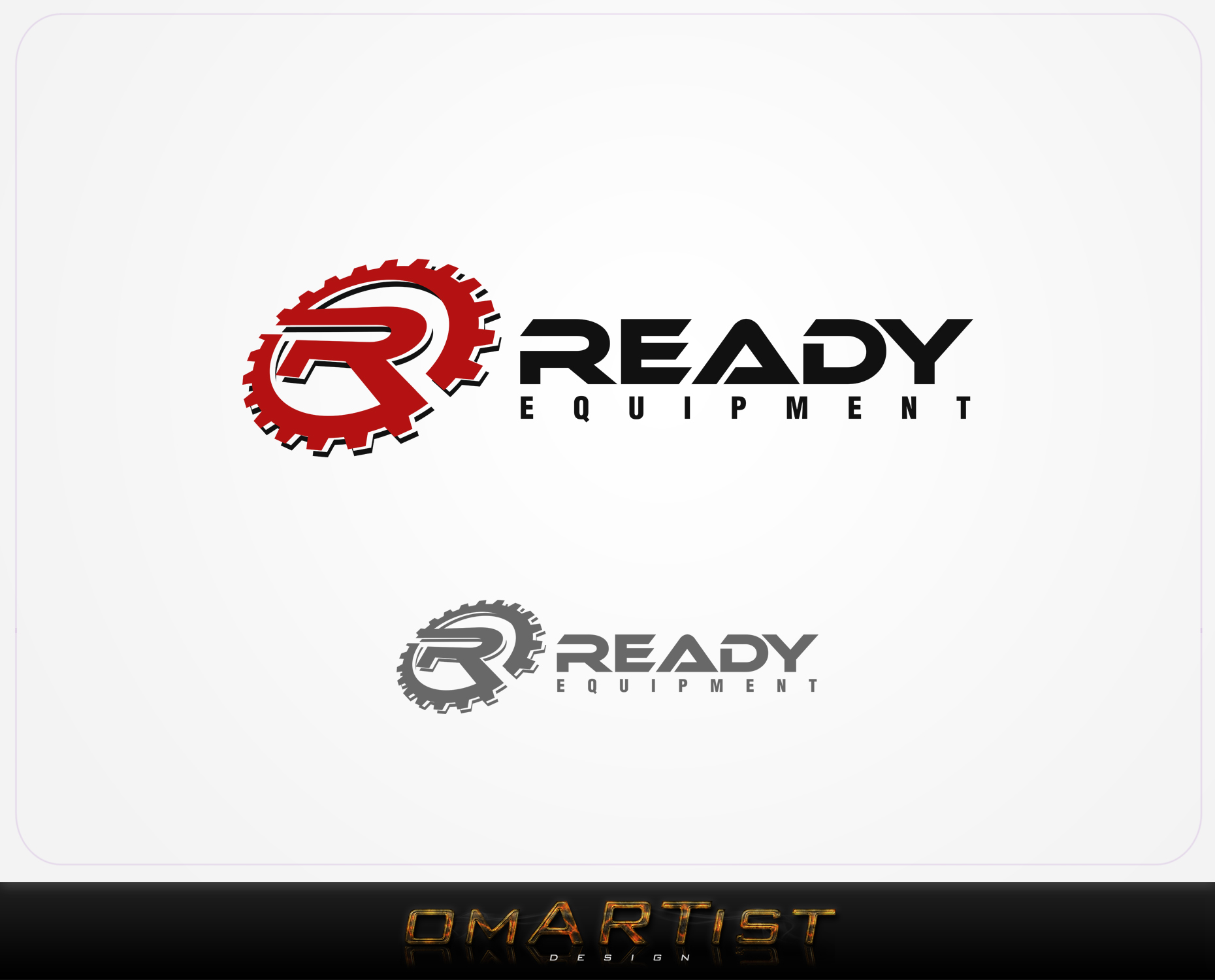 Logo Design by omARTist - Entry No. 214 in the Logo Design Contest Ready Equipment  Logo Design.