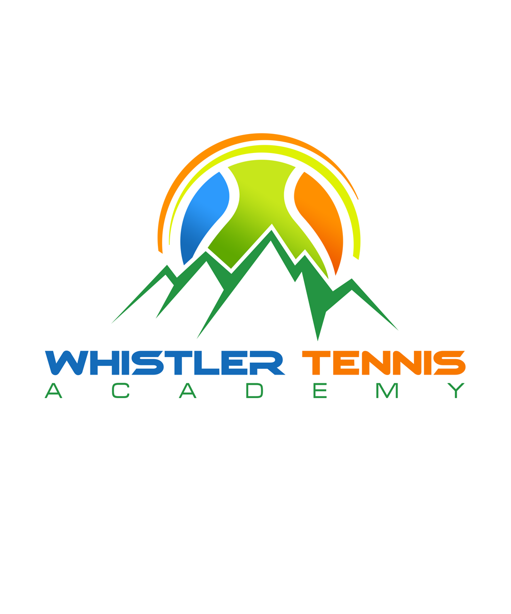 Logo Design by Private User - Entry No. 215 in the Logo Design Contest Imaginative Logo Design for Whistler Tennis Academy.