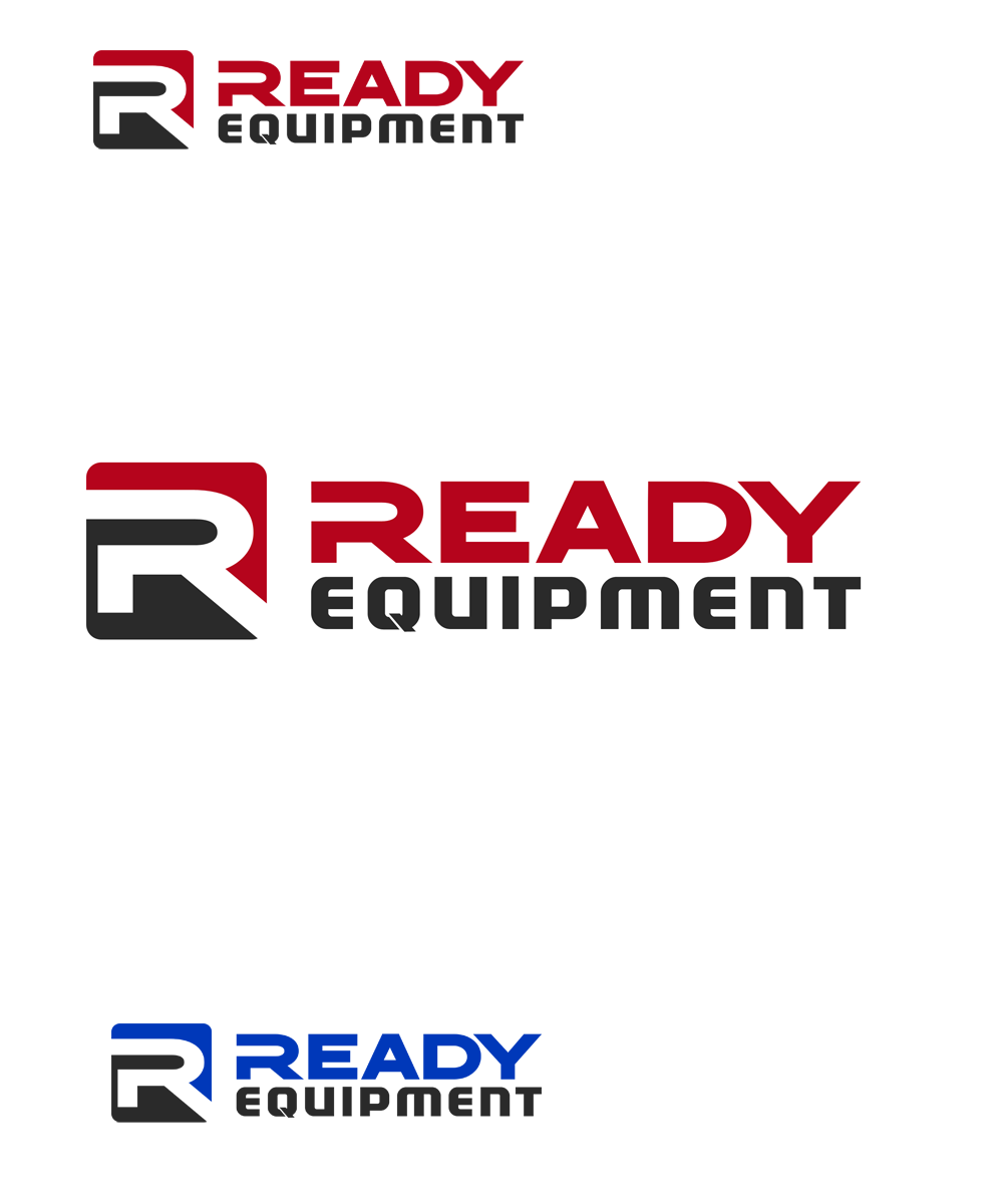 Logo Design by Private User - Entry No. 218 in the Logo Design Contest Ready Equipment  Logo Design.
