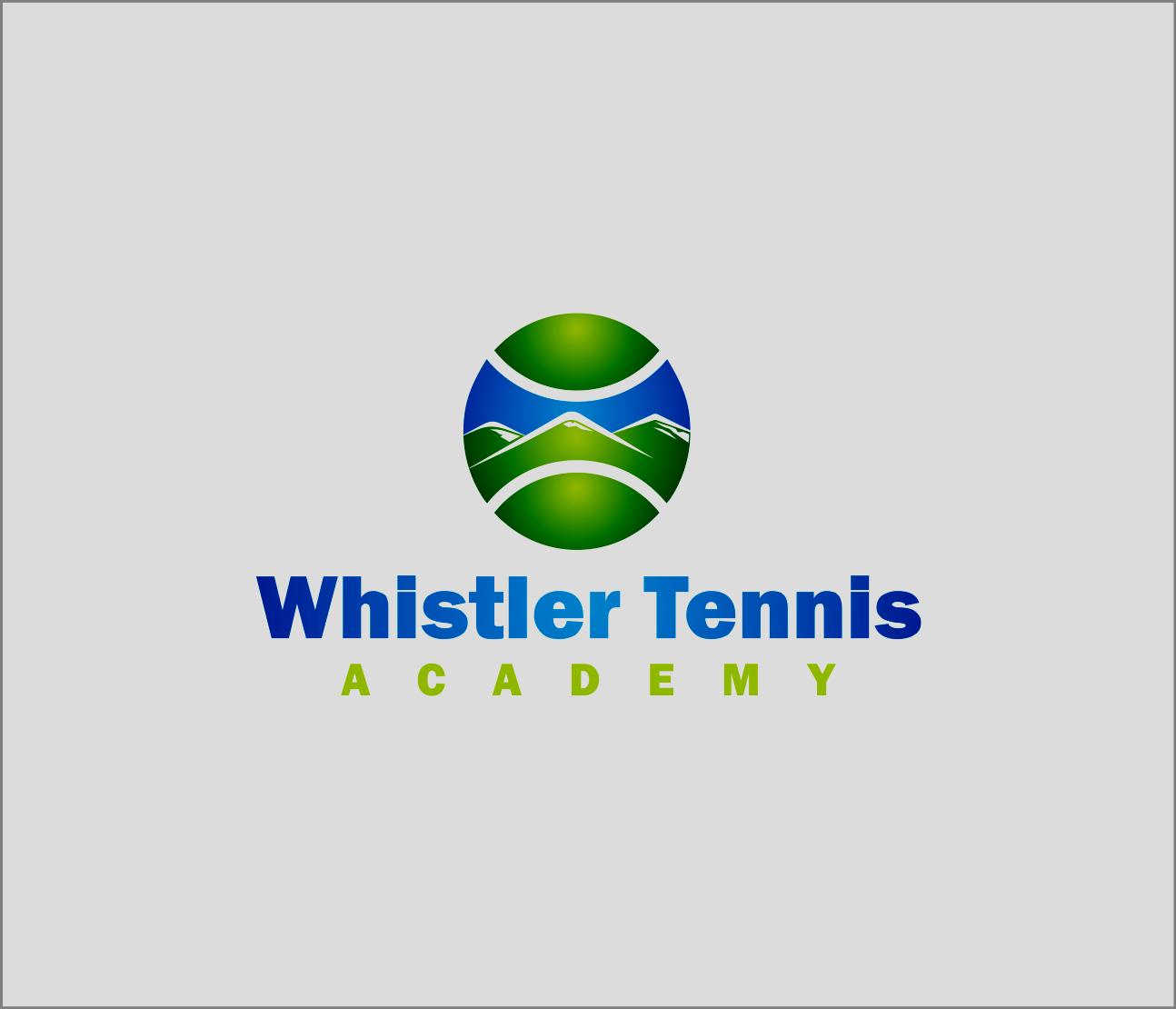 Logo Design by Armada Jamaluddin - Entry No. 218 in the Logo Design Contest Imaginative Logo Design for Whistler Tennis Academy.