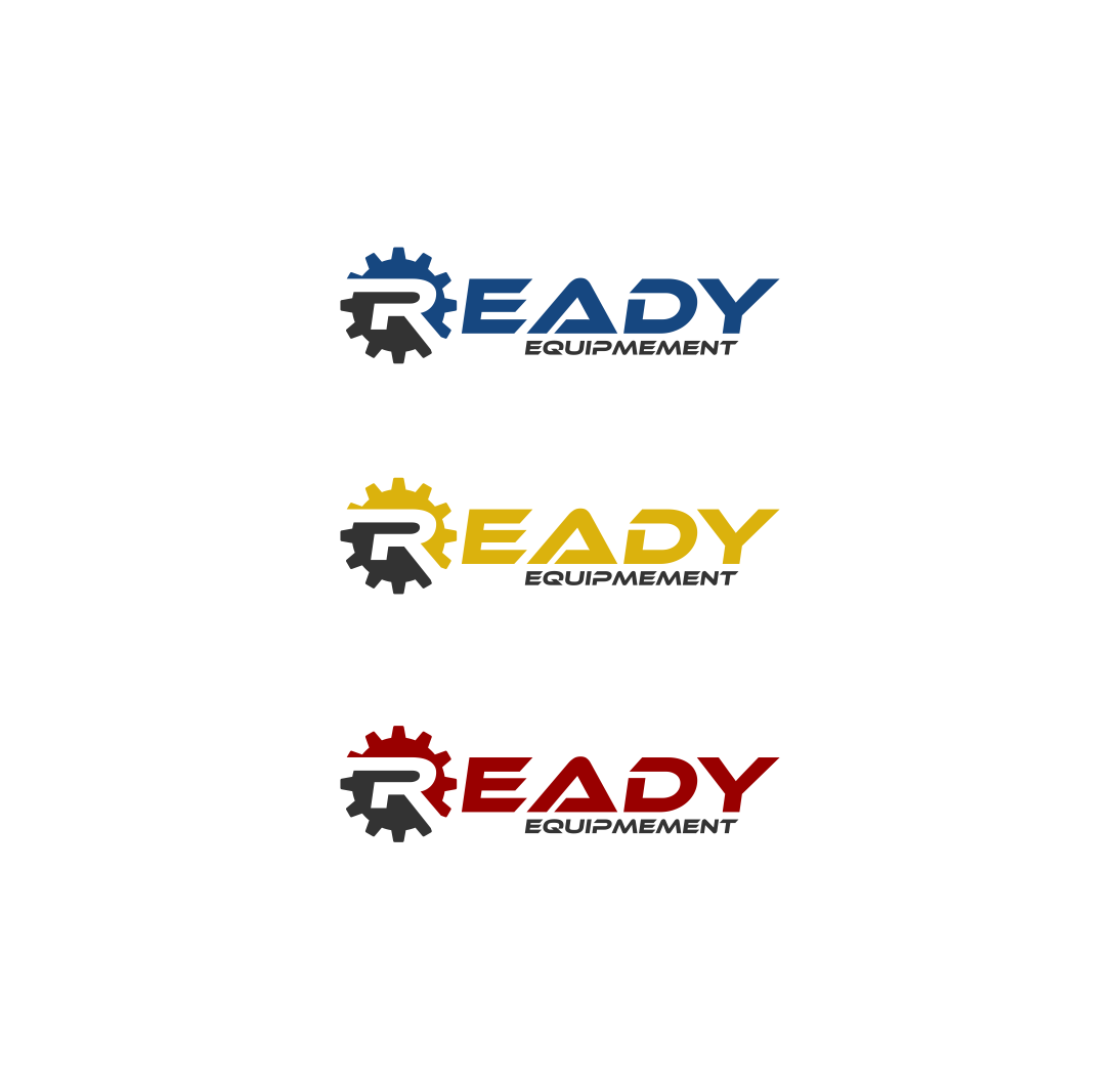 Logo Design by haidu - Entry No. 223 in the Logo Design Contest Ready Equipment  Logo Design.