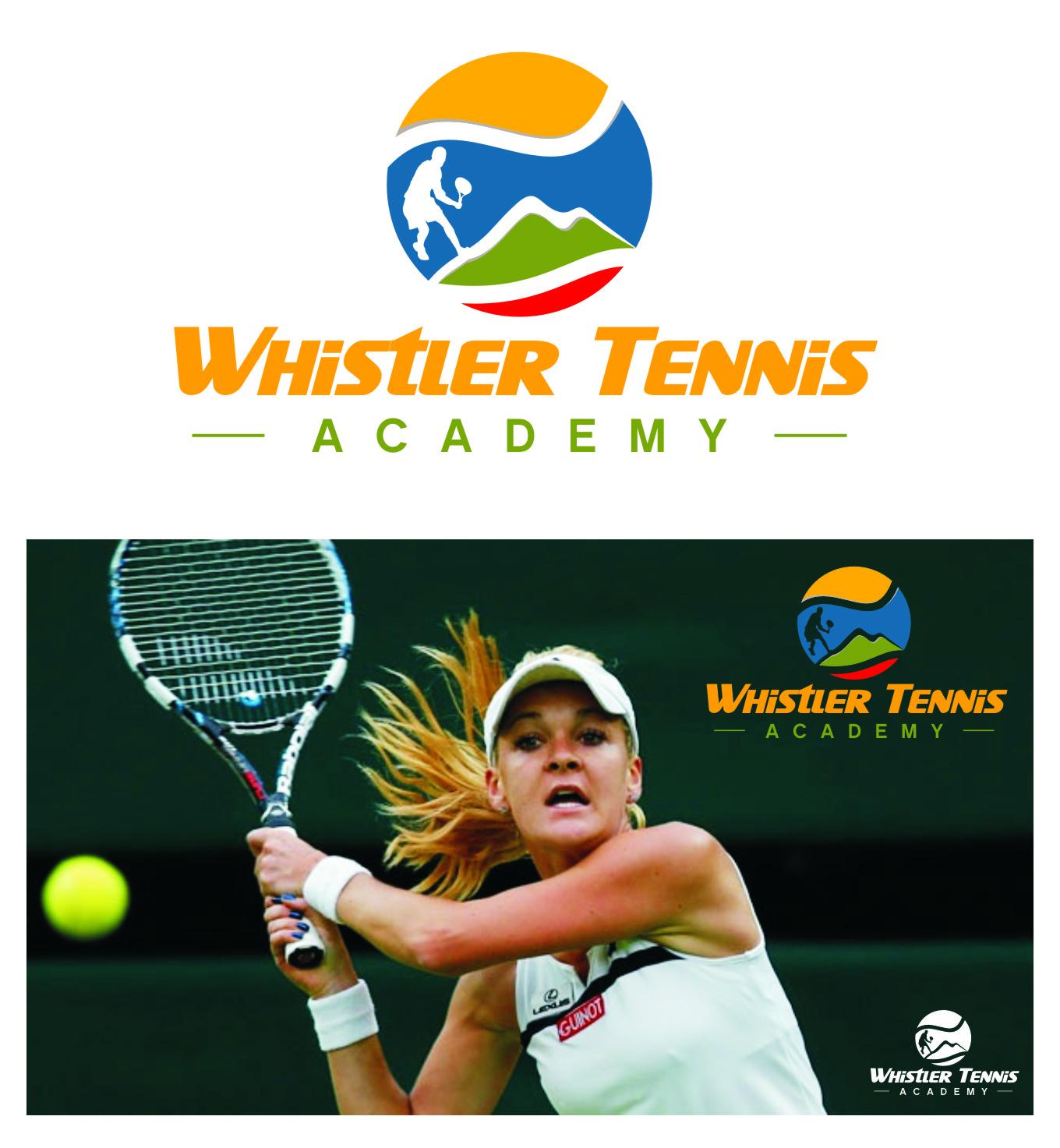 Logo Design by RoSyid Rono-Rene On Java - Entry No. 220 in the Logo Design Contest Imaginative Logo Design for Whistler Tennis Academy.