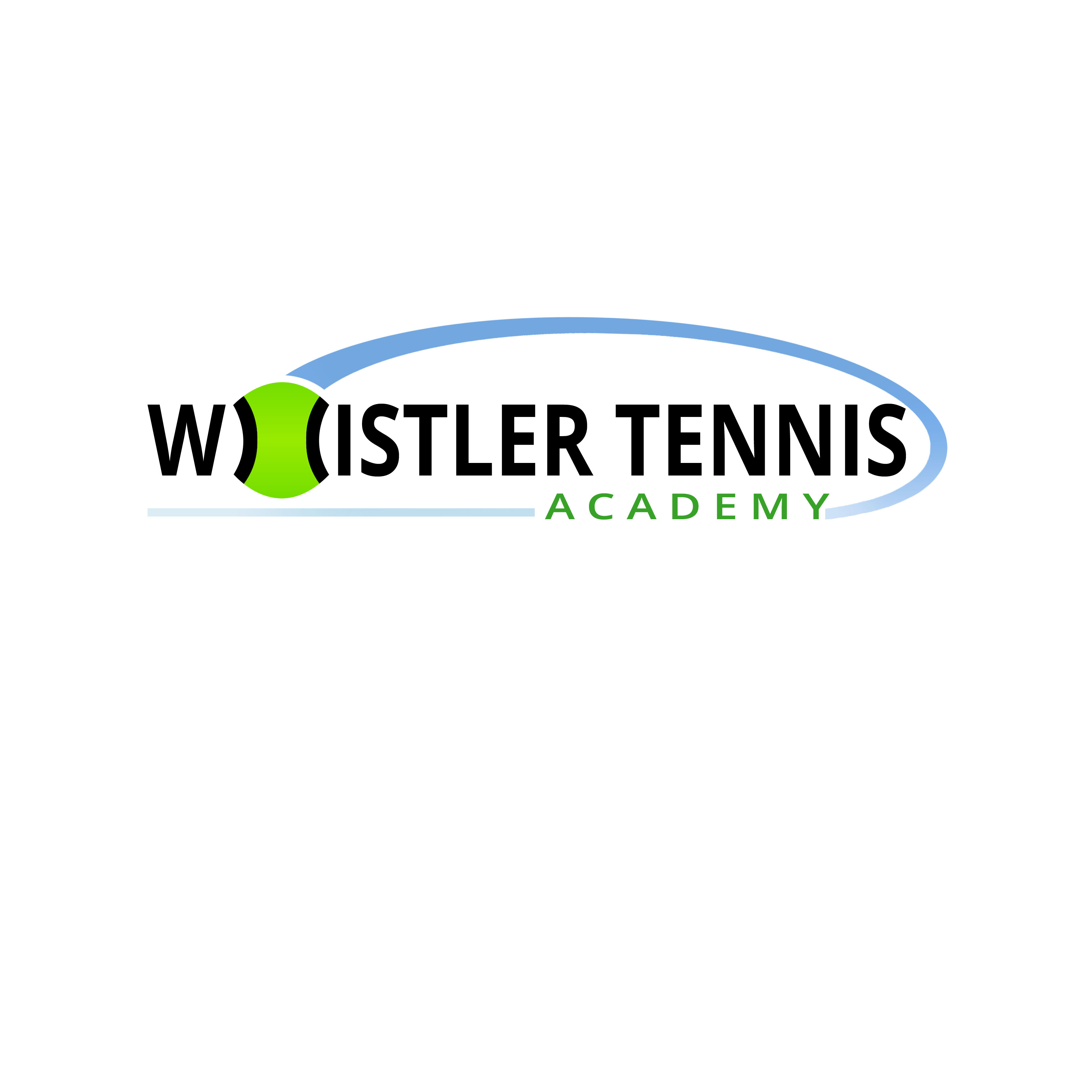 Logo Design by Allan Esclamado - Entry No. 223 in the Logo Design Contest Imaginative Logo Design for Whistler Tennis Academy.
