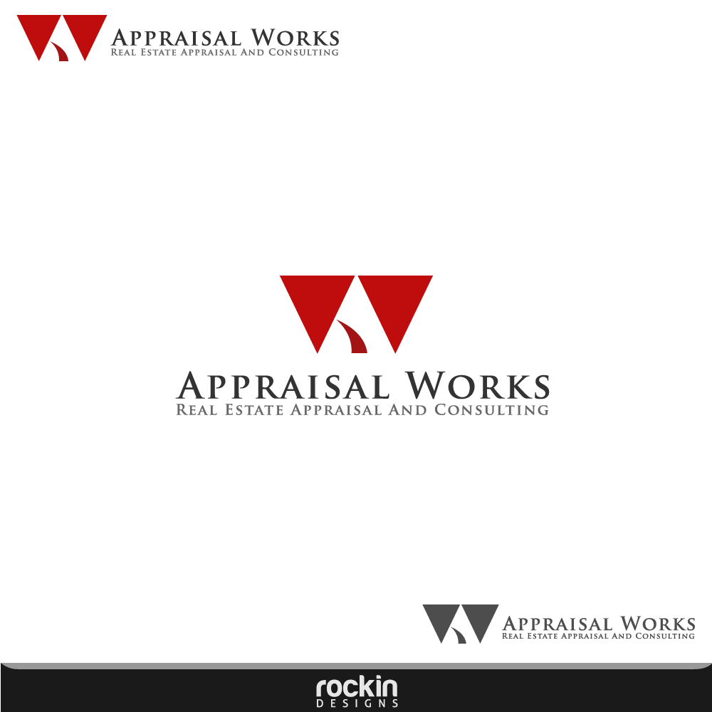 Logo Design by rockin - Entry No. 180 in the Logo Design Contest Appraisal Works Logo Design.