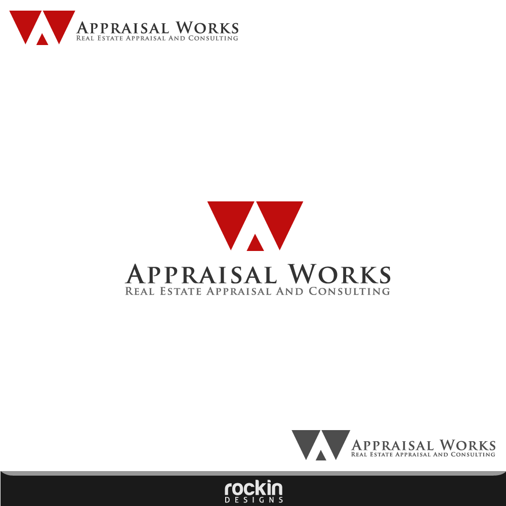 Logo Design by rockin - Entry No. 181 in the Logo Design Contest Appraisal Works Logo Design.