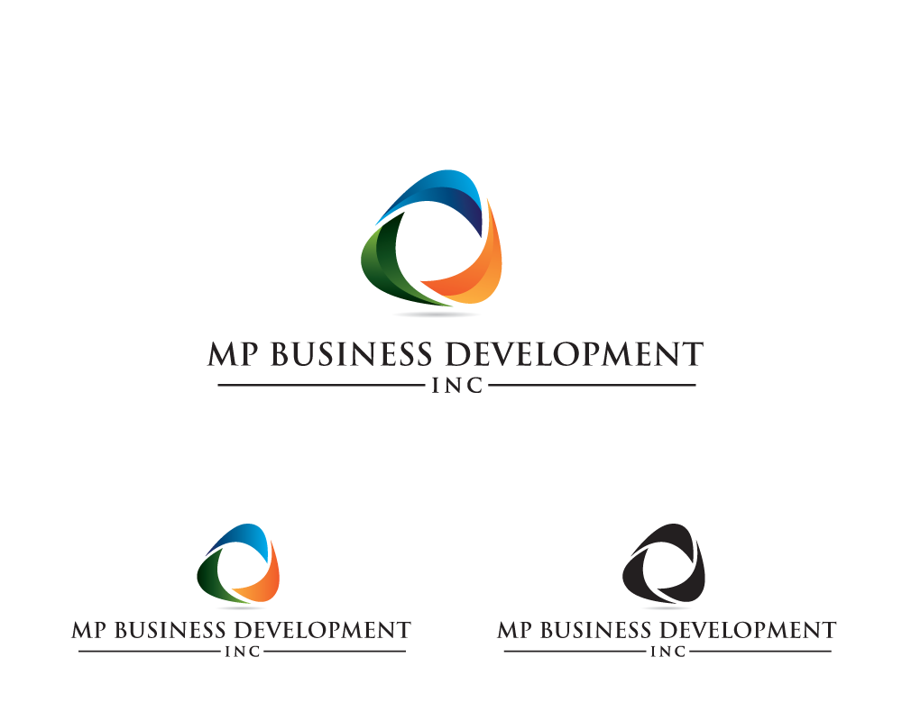 Logo Design by roc - Entry No. 8 in the Logo Design Contest MP Business Development Inc. Logo Design.
