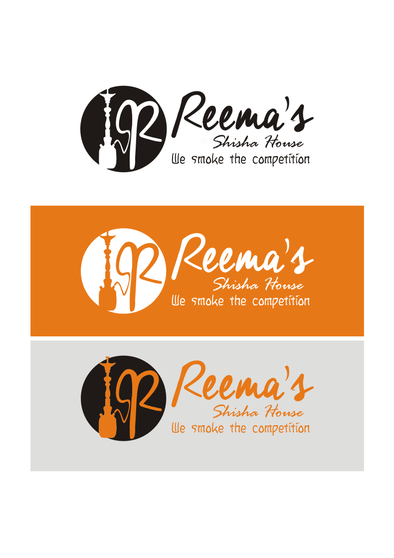 Logo Design by Nthus Nthis - Entry No. 10 in the Logo Design Contest Captivating Logo Design for Reema's Shisha House.