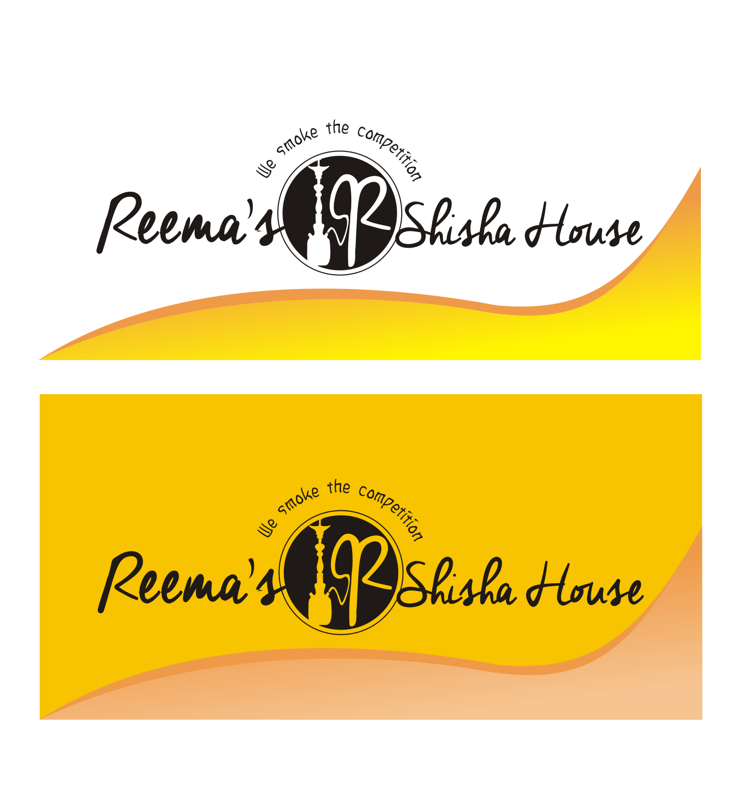 Logo Design by Nthus Nthis - Entry No. 12 in the Logo Design Contest Captivating Logo Design for Reema's Shisha House.