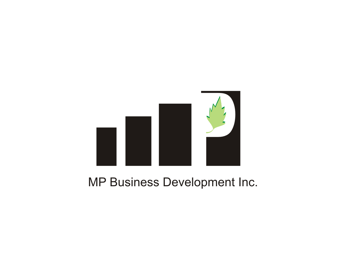 Logo Design by Nthus Nthis - Entry No. 15 in the Logo Design Contest MP Business Development Inc. Logo Design.