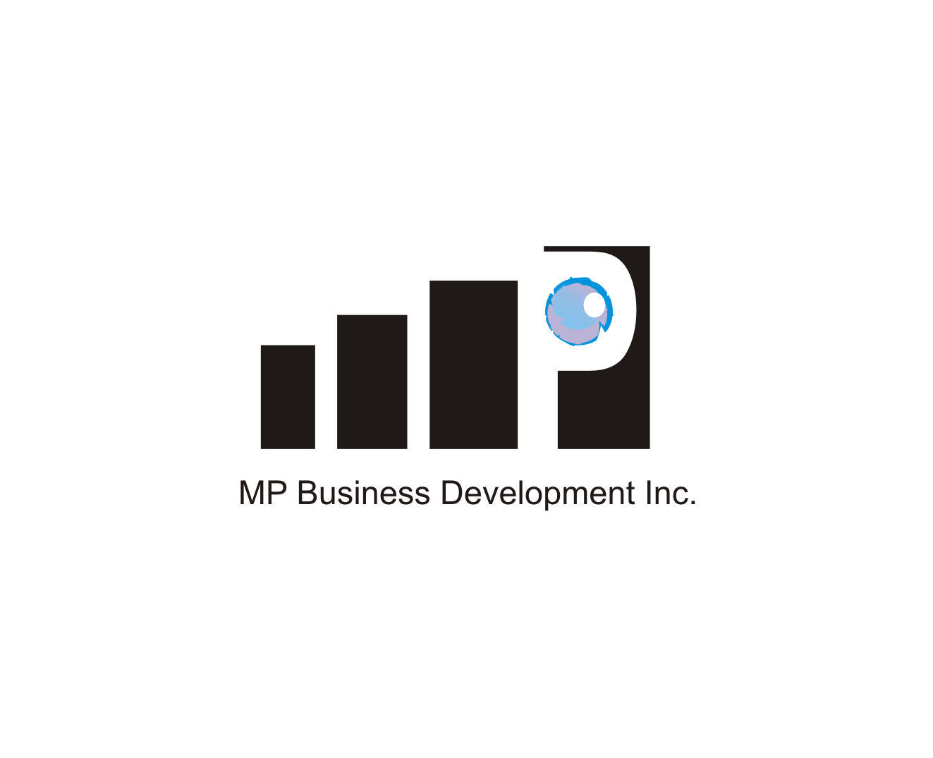 Logo Design by Nthus Nthis - Entry No. 16 in the Logo Design Contest MP Business Development Inc. Logo Design.