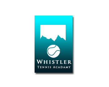 Logo Design by Crystal Desizns - Entry No. 233 in the Logo Design Contest Imaginative Logo Design for Whistler Tennis Academy.
