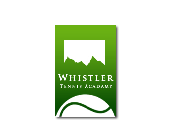 Logo Design by Crystal Desizns - Entry No. 235 in the Logo Design Contest Imaginative Logo Design for Whistler Tennis Academy.