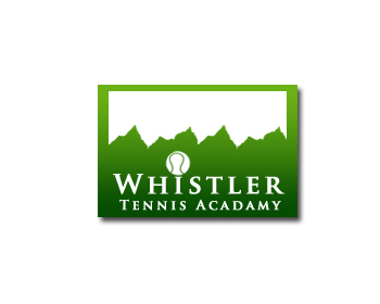 Logo Design by Crystal Desizns - Entry No. 236 in the Logo Design Contest Imaginative Logo Design for Whistler Tennis Academy.
