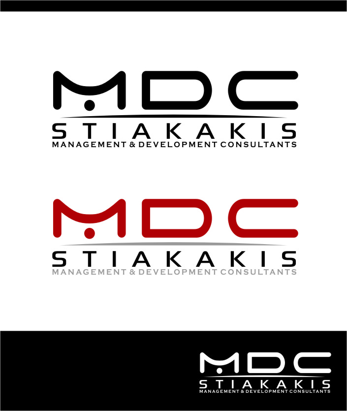 Logo Design by Ngepet_art - Entry No. 47 in the Logo Design Contest Unique Logo Design Wanted for MDC STIAKAKIS.
