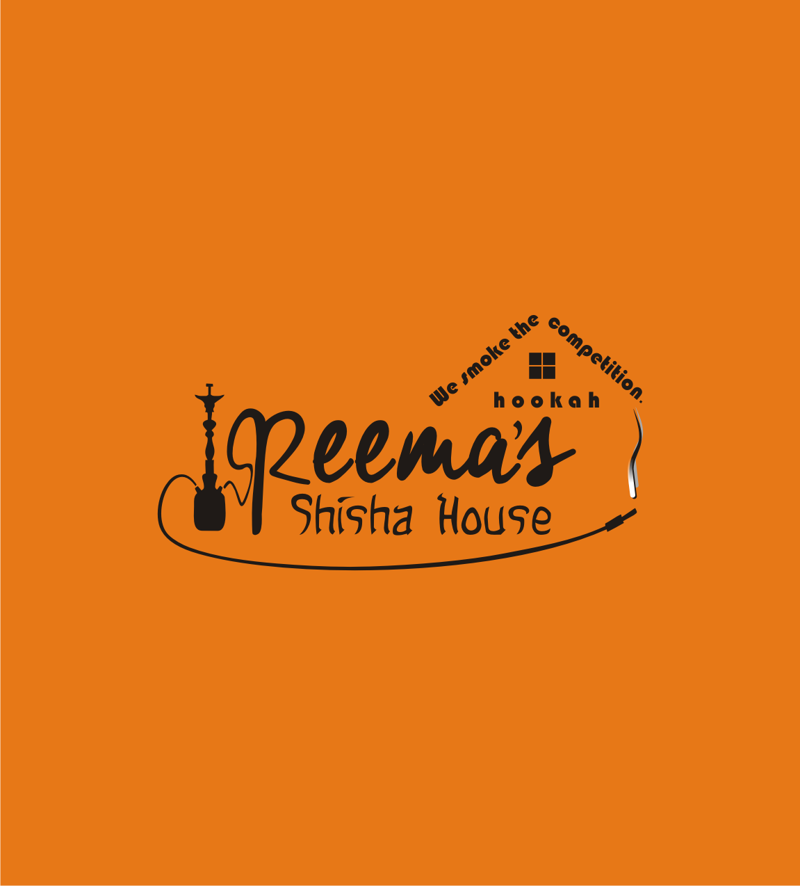 Logo Design by Nthus Nthis - Entry No. 24 in the Logo Design Contest Captivating Logo Design for Reema's Shisha House.