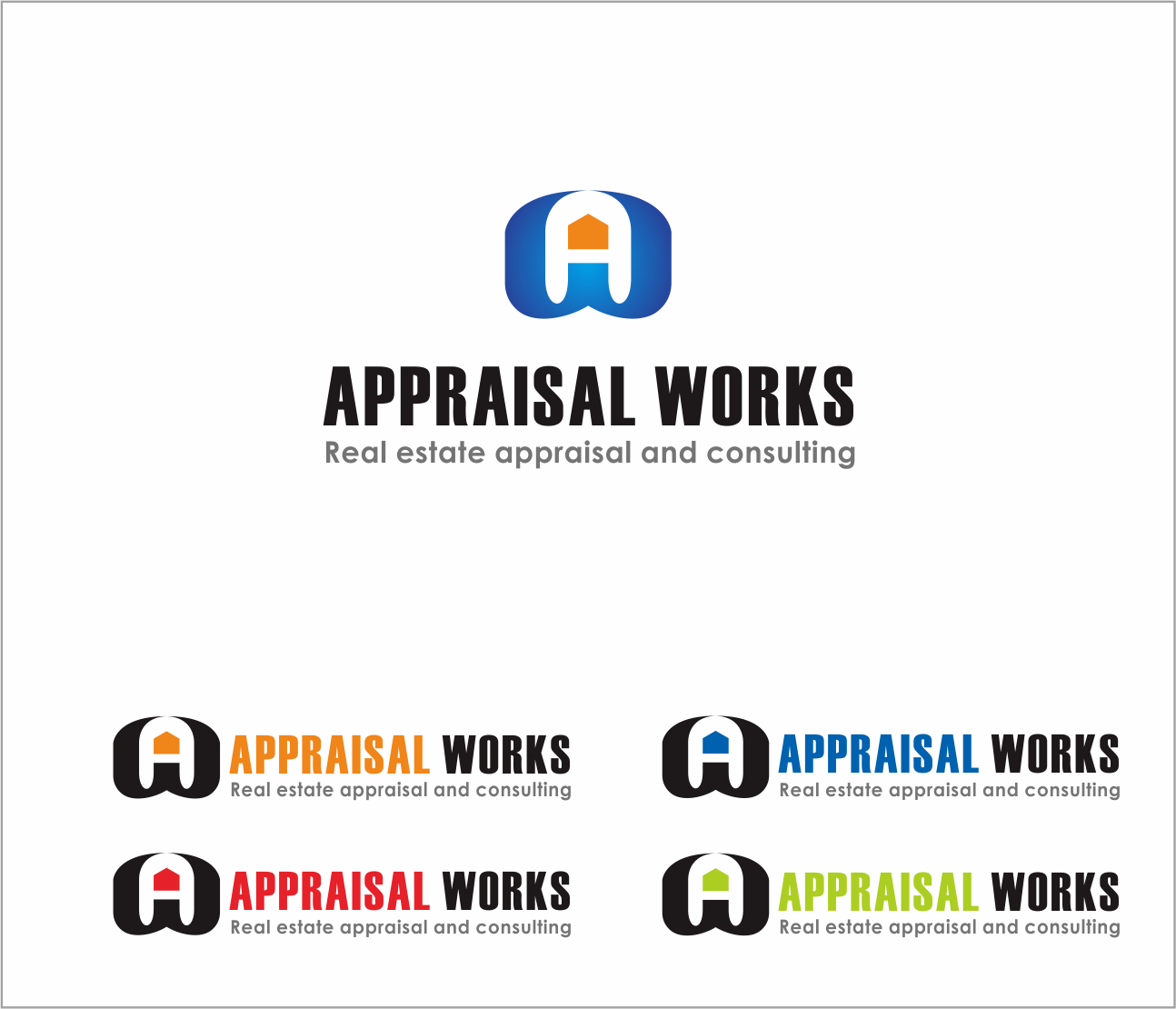 Logo Design by Armada Jamaluddin - Entry No. 188 in the Logo Design Contest Appraisal Works Logo Design.