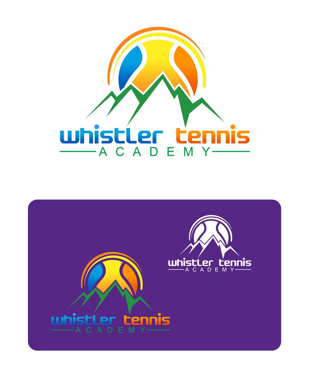 Logo Design by Private User - Entry No. 243 in the Logo Design Contest Imaginative Logo Design for Whistler Tennis Academy.