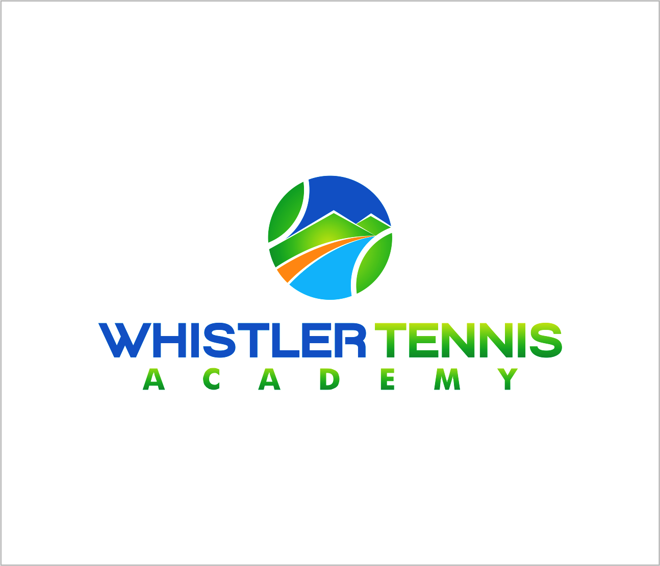 Logo Design by Armada Jamaluddin - Entry No. 244 in the Logo Design Contest Imaginative Logo Design for Whistler Tennis Academy.