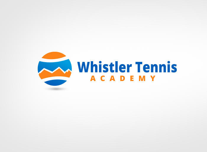 Logo Design by Jan Chua - Entry No. 247 in the Logo Design Contest Imaginative Logo Design for Whistler Tennis Academy.