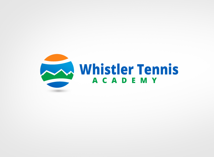 Logo Design by Jan Chua - Entry No. 248 in the Logo Design Contest Imaginative Logo Design for Whistler Tennis Academy.