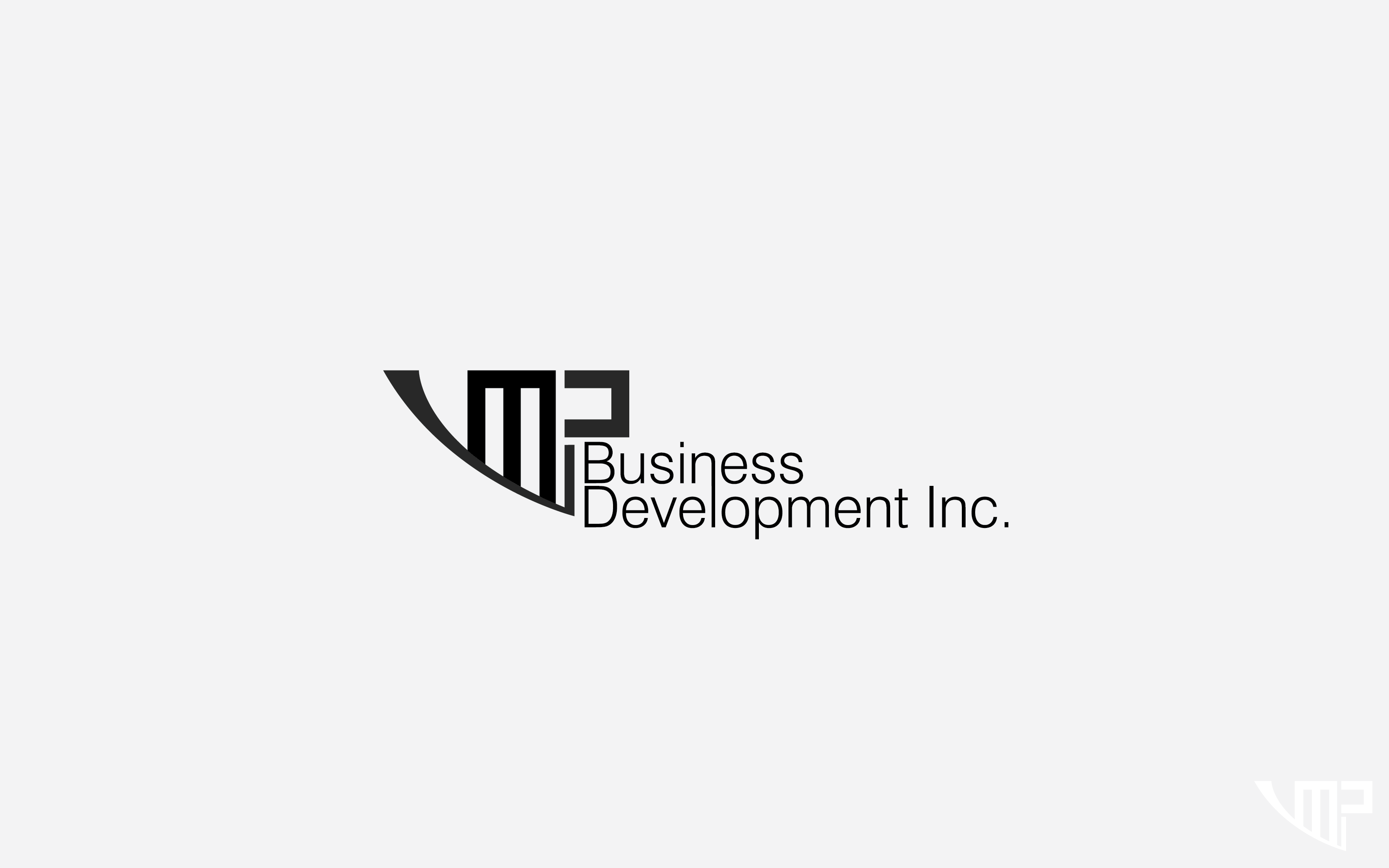 Logo Design by Private User - Entry No. 30 in the Logo Design Contest MP Business Development Inc. Logo Design.
