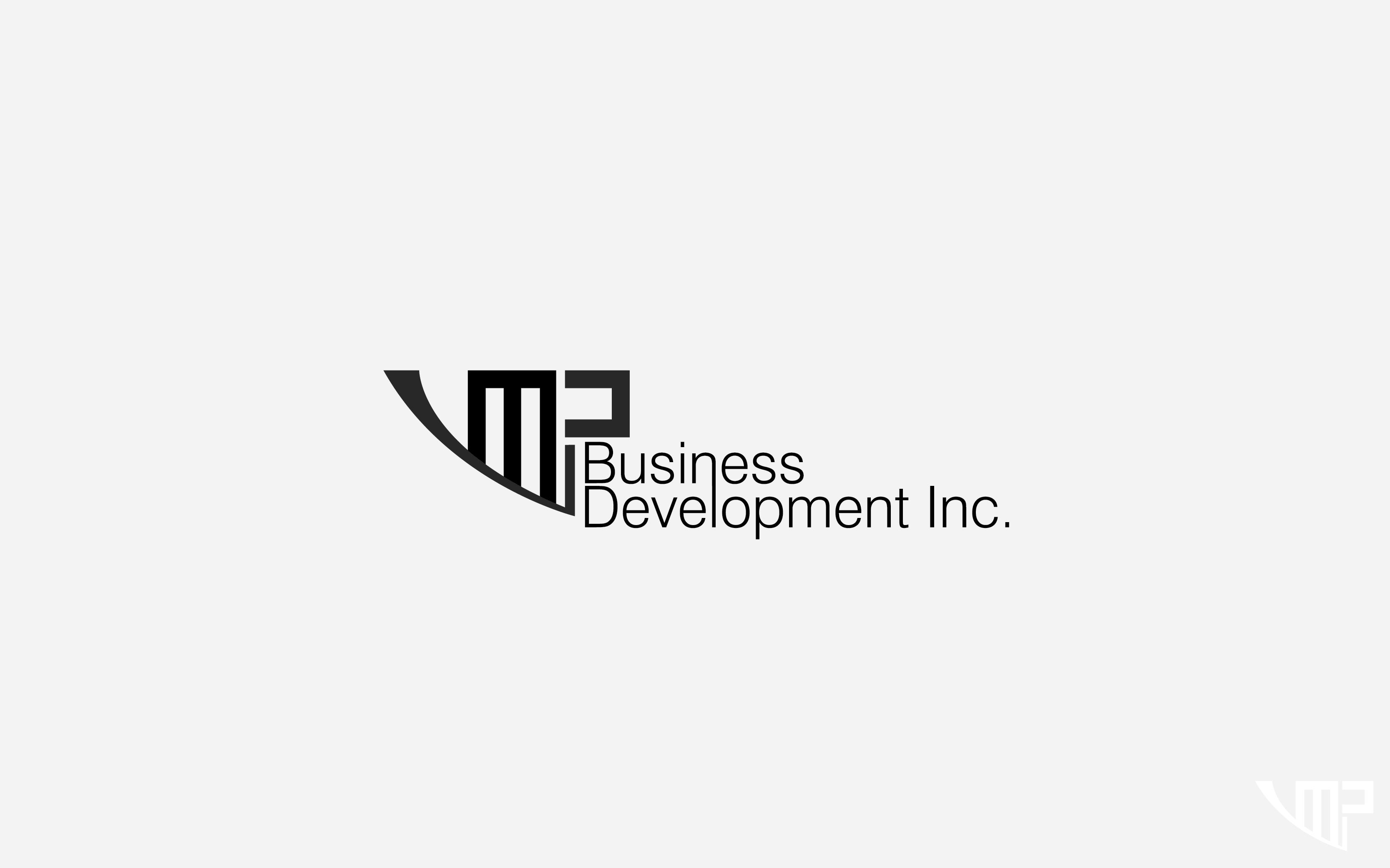 Logo Design by Private User - Entry No. 30 in the Logo Design Contest MP Business Development Inc. Logo Design.