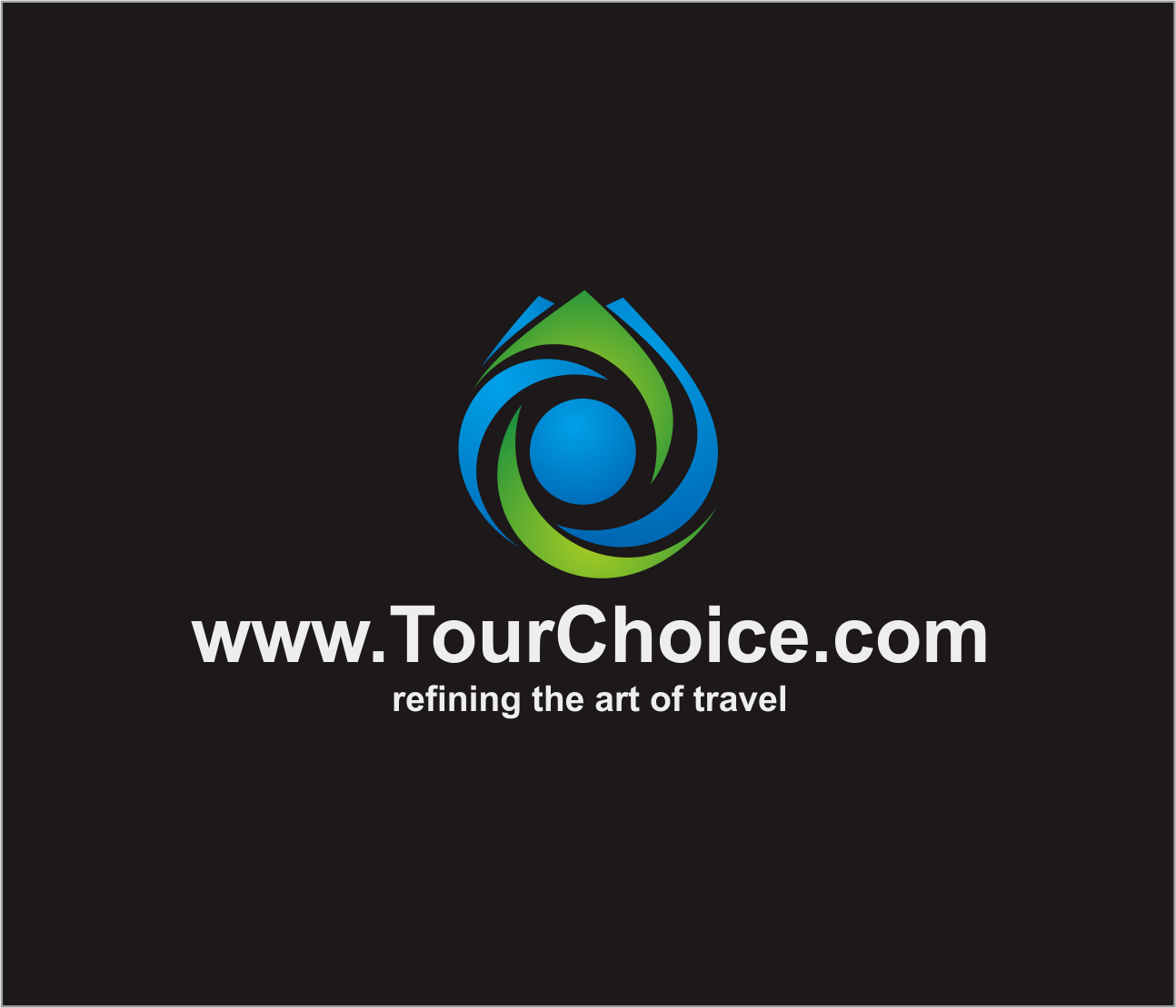 Logo Design by Armada Jamaluddin - Entry No. 47 in the Logo Design Contest www.TourChoice.com Logo Design.