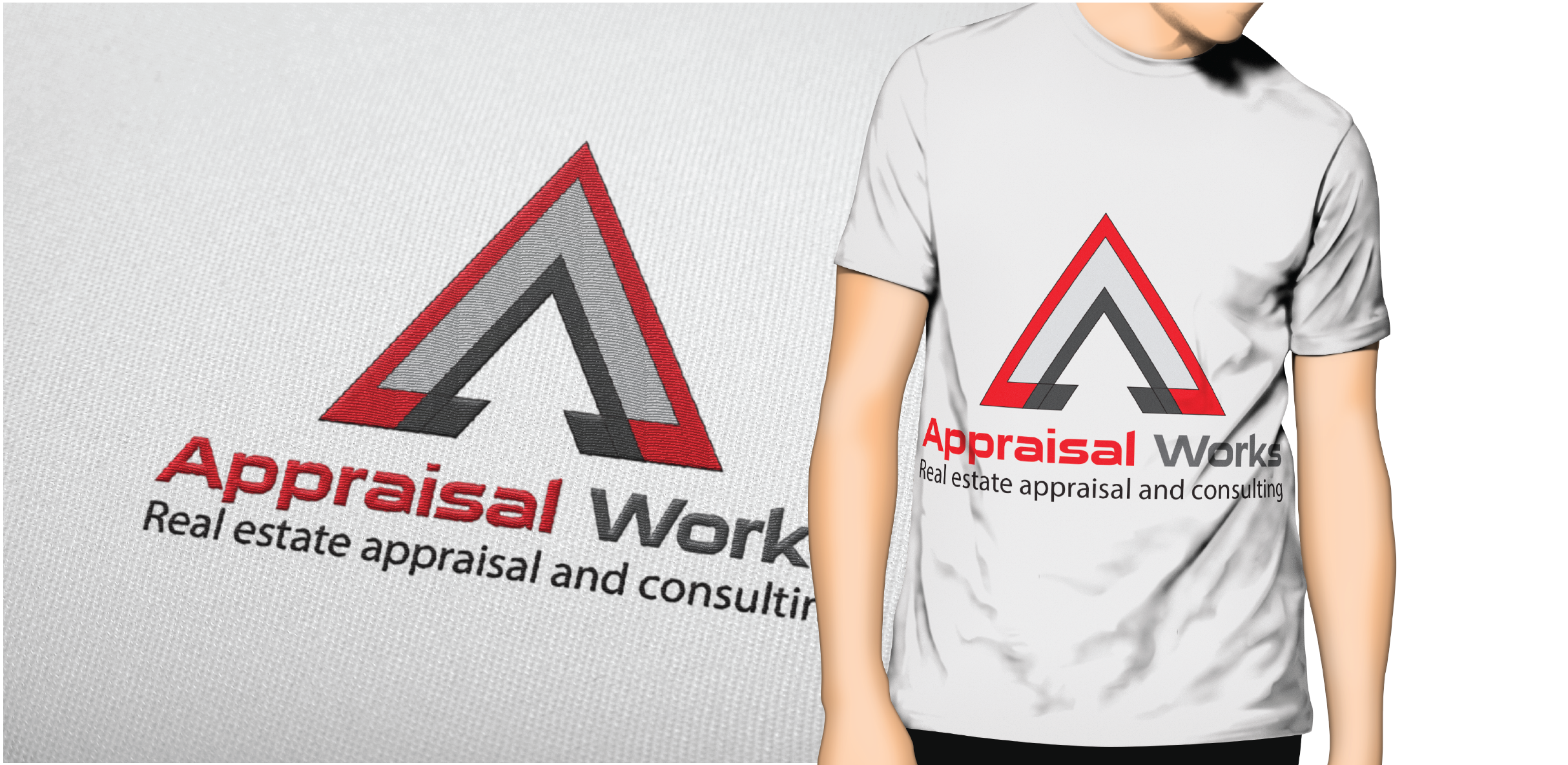 Logo Design by Private User - Entry No. 200 in the Logo Design Contest Appraisal Works Logo Design.