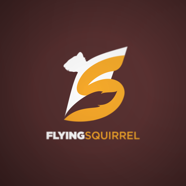Logo Design by Private User - Entry No. 19 in the Logo Design Contest Artistic Logo Design for Flying squirrel video.