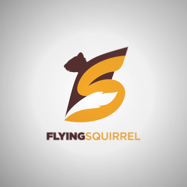Logo Design by Private User - Entry No. 20 in the Logo Design Contest Artistic Logo Design for Flying squirrel video.